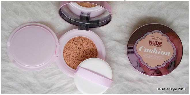 Διαγωνισμός S4SisterStyle με δώρο 5 Make up Nude Magique Cushion