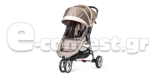 8f411f5c2d9 Διαγωνισμός Βρεφικά Πολυκαταστήματα ΛΗΤΩ με δώρο ένα καρότσι Baby Jogger  City Mini® Single 3W