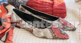 4a4e41a704 Διαγωνισμός Shoe Blogging με δώρο τα φιδίσια φλατ της φωτογραφίας