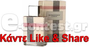 Διαγωνισμός inbeauty.gr με δώρο ένα BURBERRY London Eau de Parfum 100 ml b152246b45f